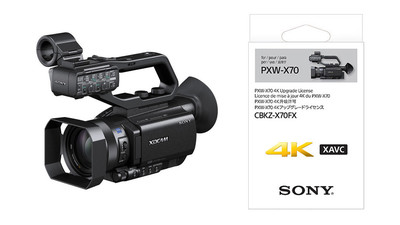 Sony PXW-X70 XDCAM HD422 Camcorder with 4K Upgrade License Key