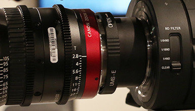 Intro image for article Quickly Swap Lens Mounts on Your Canon Cinema Zooms
