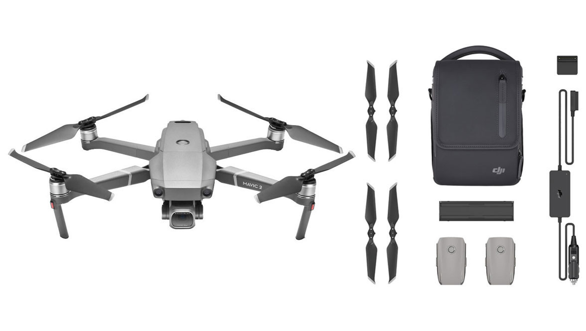DJI Mavic 2 Pro Drone Quadcopter + Fly More Kit Combo Bundle